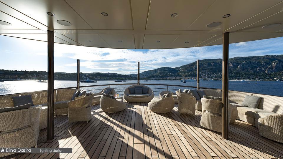 Chakra yacht lighting design Σχεδιασμός Φωτισμού chakra